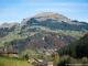 Mont Lachat de Châtillon depuis le Grand Bornand