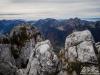 Vue sur la Pointe d'Ireuse et le Mont Billiat (24 octobre 2015)