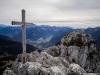 Croix sommitale du Mont Ouzon (24 octobre 2015)