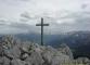 Croix au sommet des rochers d'Ouzon (13 mai 2007)