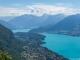 Lac d'Annecy et Roc des Boeufs sur la droite (24 juin 2018)