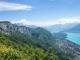 Mont Veyrier, avec la Tournette en arrière plan et le Lac d'Annecy (24 juin 2018)