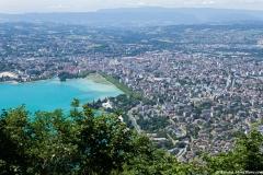 Annecy et son lac (24 juin 2018)