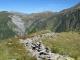 Vue sur le Col de Balme au loin (11 septembre 2010)