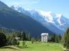 Vue sur le Mont Blanc depuis le Planet (11 septembre 2010)