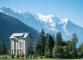 Départ au Planet avec vue sur le Mont Blanc (9 septembre 2016)