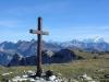 Croix au sommet de la Montagne de Sous-Dine
