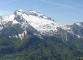 Panorama sur le massif de la Tournette (6 mai 2006)