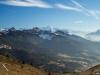 Vue sur le Massif du Mont-Blanc