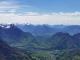 L'on peut apercevoir le Lac d'Annecy (9 mai 2021)