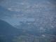 Vue sur Annecy et son lac depuis le sommet