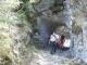 Passage dans la roche (2 mai 2006)
