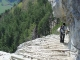 Le passage délicat du Pas du Roc (2 mai 2006)