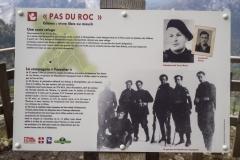 Panneau d'information sur la Résistance durant la Seconde Guerre Mondiale (12 mai 2019)