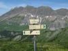 Arrivée au sommet du Petit Croisse avec les Aravis en toile de fond
