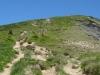 Sentier montant au Petit Croisse Baulet