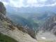Vue sur les Aravis depuis le Col du Rasoir