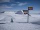 Départ des pistes à l'arrivée du télésiège de la Pizolhütte (2223 m).