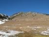 Vue sur le sommet depuis le parking (6 février 2011)