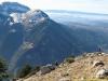 Au fond, la Pointe de Sur Cou et la Montagne Sous-Dine (6 février 2011)
