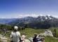 Panorama sur les Bornes (merci à Noel Cramer pour la photo, 30 juin 2014)