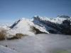 Pointe de Bostan l'hiver