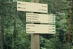"""Suivre la direction de la """"Pointe d'Areu - 4 h 45"""" (21 juillet 2019)"""