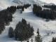 Vue sur les pistes de ski alpin (15 décembre 2018)