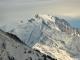 Vue sur le Mont Blanc (15 décembre 2018)