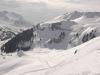 Pointe de Chavasse à droite et Pointe du Haut Fleury à gauche (23 mars 2006)
