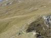 Sentier dans la dernière partie de l'ascension (21 octobre 2007)