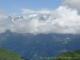 Dents du Midi masquées par les nuages