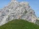 Pointe du Midi derrière