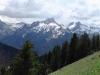 À droite, Roc d'Enfer, Pointe d'Uble. et Pointe de Chalune