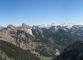 Panorama sur les Cornettes de Bise, la Pointe d'Arvouin, le Valais, et le Mont Chauffé