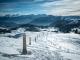 Chemin de Croix avec vue sur les Bornes et les Aravis (22 janvier 2016)