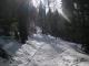 Sentier au départ des Granges (22 février 2009)