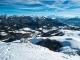 Vue sur le Massif du Mont-Blanc (22 janvier 2016)
