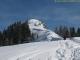 Pointe de Miribel dont le sommet est proche (22 février 2009)