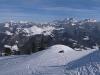 Panorama grandiose depuis la pointe de Miribel sur tous les sommets du massif du Mont-Blanc (22 février 2009)