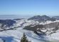 Au loin, le Mont Forchat (15 janvier 2006)