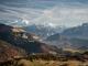 Vue sur le Massif du Mont-Blanc (7 novembre 2015)