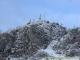 Pointe de Miribel à la première neige (25 avril 2004)