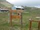 Départ du sentier au chalets d'Ajon (25 avril 2004)