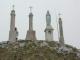 Vierge au sommet de la Pointe de Miribel (25 avril 2004)