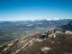 Vue sur le Chablais depuis le sommet (21 février 2016)