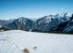 Vue sur le Plateau de Solaison et les Bornes (21 février 2016)