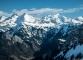 Vue sur le Massif des Bornes et du Mont-Blanc (21 février 2016)