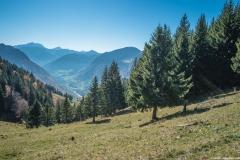 Arrivée au Col de l'Aiguille (15 octobre 2017)