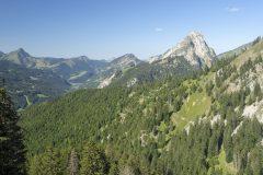 Vue sur le Mont Chauffé (18 août 2019)